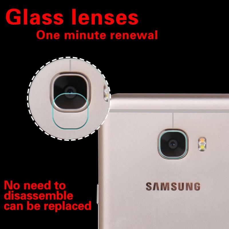 Back Camera Lens 9H Glass Film For Samsung Galaxy C5 Tempered Glass Film For Samsung Galaxy C7 Rear Camera Lens Protective Film