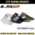 PC Ls2 MX433 y Ls2 MX455 Visera Del Casco de Motocross Casco de La Motocicleta Piezas y Accesorios