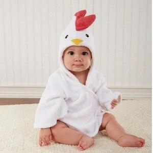 Image 2 - Hooyi cobertor de toalha infantil, coroa de princesa para recém nascidos, bebês meninas, roupão de banho com capuz, toalhas de banho, pijamas de bebê, casaco