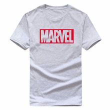 2018 new fashion MARVEL T-shirt men's and women's cotton short-sleeved casual men's T-shirt miracle men and women couples T-shir
