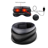 USB Heating New Neck Cervical Traction Device Collar Head Back Shoulder Neck Pain Headache Health Care