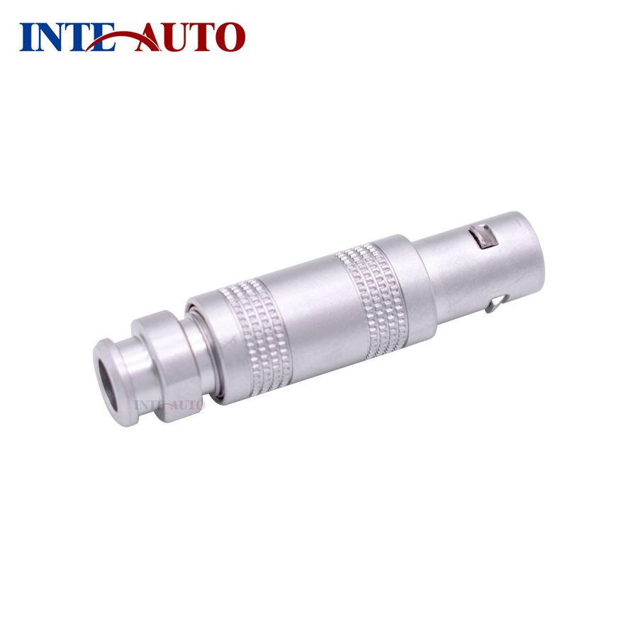 China LEMOs Multi pins Circular Connector FFA M12 1S series plug, Half-Moon 2 Pins Connector for Thickness Gauge,FFA.1S.302 lemo 1p series 2pin connector pab plb 60 degrees dual positioning pins medical connector 2 pin oximetry sensor connector