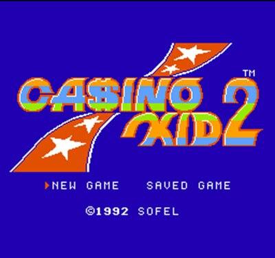 Casino Kid 2 60 Pins 8 Bit Game Card
