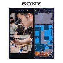 ORIGINAL Para SONY Xperia Z1 Pantalla LCD Para SONY Xperia Z1 Pantalla táctil con Digitalizador Marco L39 C6902 C6903 C6906 C6943 L39H