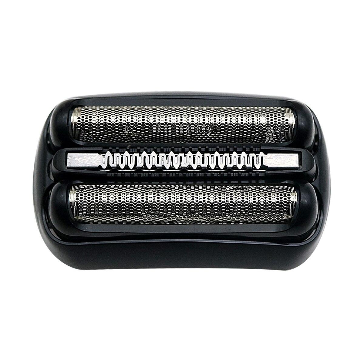 21b para braun série 3 folha de barbear elétrico & cabeça cortador 320 330 340 350 380 300s 301s 310s 3000s 3020s 330s-4 3050cc 3040s