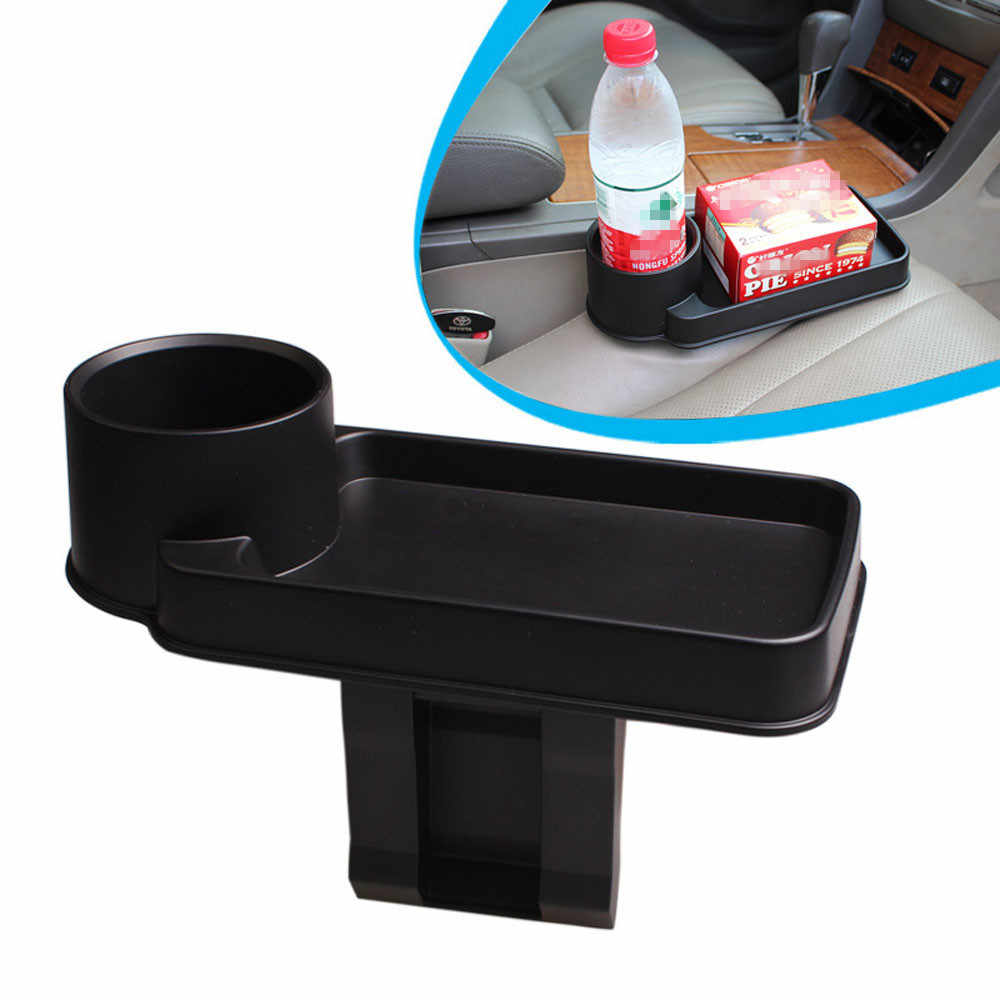 Car drink holder New arrival 2017 Multifunction Car-styling box Car Snack Tray Drink Rack Holder Mount Stand Storage Organizer