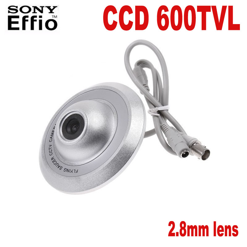 HQCAM Sony CCD 600tvl Ceiling UFO Camera 2.8mm Lens Flying Saucer Security Camera Elevator camera  security inspection camera hqcam 600tvl sony ccd camera 170degree
