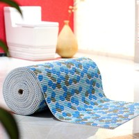 PVC sheet wear non slip mats bathroom stitching thick carpet children crawling bedding bedroom hall