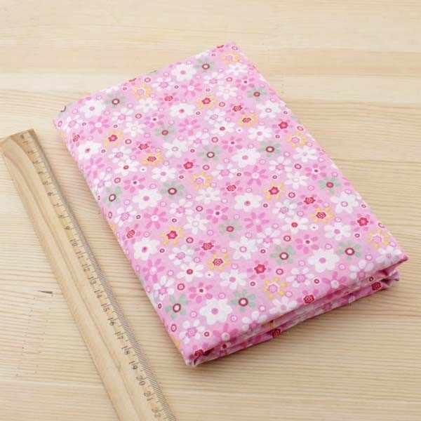 7 pcs/lot 50 cm x 50 cm rose 100% coton tissu gros quartiers pour coudre Tilda poupée tissu bricolage Quilting Patchwork tissu Textile