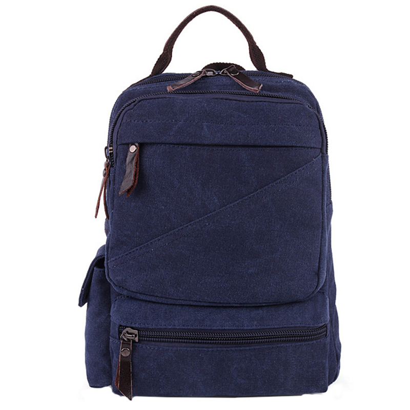 Men Canvas Backpack Women Shoulder Bag Korean Middle School Students Leisure Computer Backpacks Bag Man Bolsas Mochilas Teenager