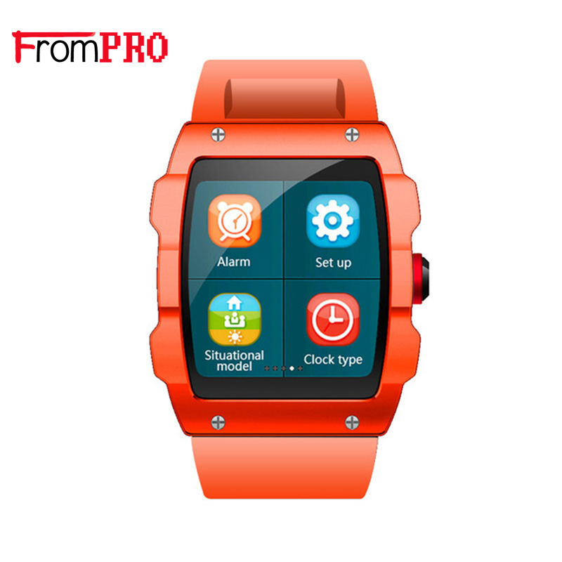 FROMPRO Smart watch V18 1 54 inch Bluetooth GPS Activity Tracker pedometer sedentary reminder Wrist Bracelet
