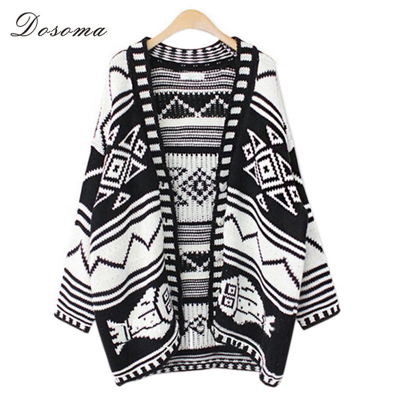 bohemian cardigan sweater thick 2017 autumn vintage long kimono ...