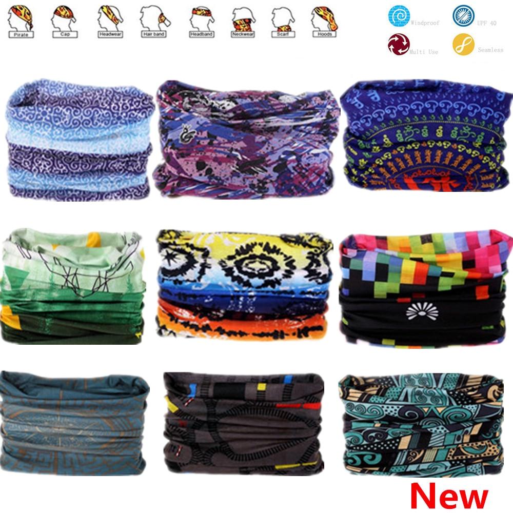 Новый шаблон хиджаб шарф бандана с бесшовные шеи трубчатый Форма Стандартный трубки уход за кожей лица маска велосипедная рулевая колонка ...
