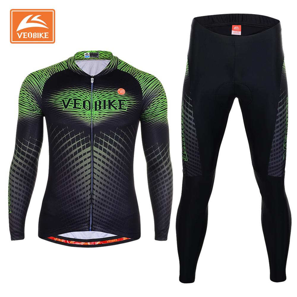 VEOBIKE 2017 Men Cycling Jersey Pro Team Long Sleeve Bike Shirt Bicycle Clothing Breathable Outdoor Ciclismo Sportswear Clothes  2017 mavic maillot ciclismo zebra pattern men personality long sleeve cycling breathable bike bicycle clothes polyester s 6xl