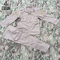 US Military Army Uniform KHAKI ACU Suit Tactical Military Combat Uniform Jacket+Pant Men's Combat Clothing High Quality 2018 New