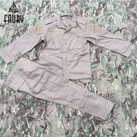 US Military Army Uniform KHAKI ACU Suit Tactical Military Combat Uniform Jacket+Pant Men's Combat Clothing High Quality 2018 New
