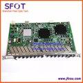 Tablero de tarjeta de 16 puertos gpon tablero original zte olt olt gtgh para zte c300 c320, con 16 Módulos SFP