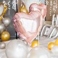 5 шт. 18 дюймов фольга Красное сердце любовь Шап воздушный шар День рождения Свадебные Air воздушные шарики для украшения гелий Supersize брак шар - фото