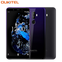 OUKITEL U25 Pro Mobile Phone 5.5 inch 2.5D Incell Display 4GB RAM 64GB ROM MTK6750T Octa Core Android 8.1 Fingerprint Smartphone