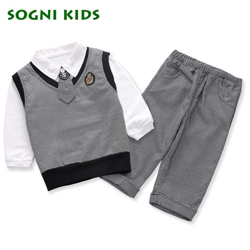 285144a2c11a Kids Baby Boys Blazer Wedding Suits for Boys Toddler Vest T shirt Tie Pants  Gentleman Set