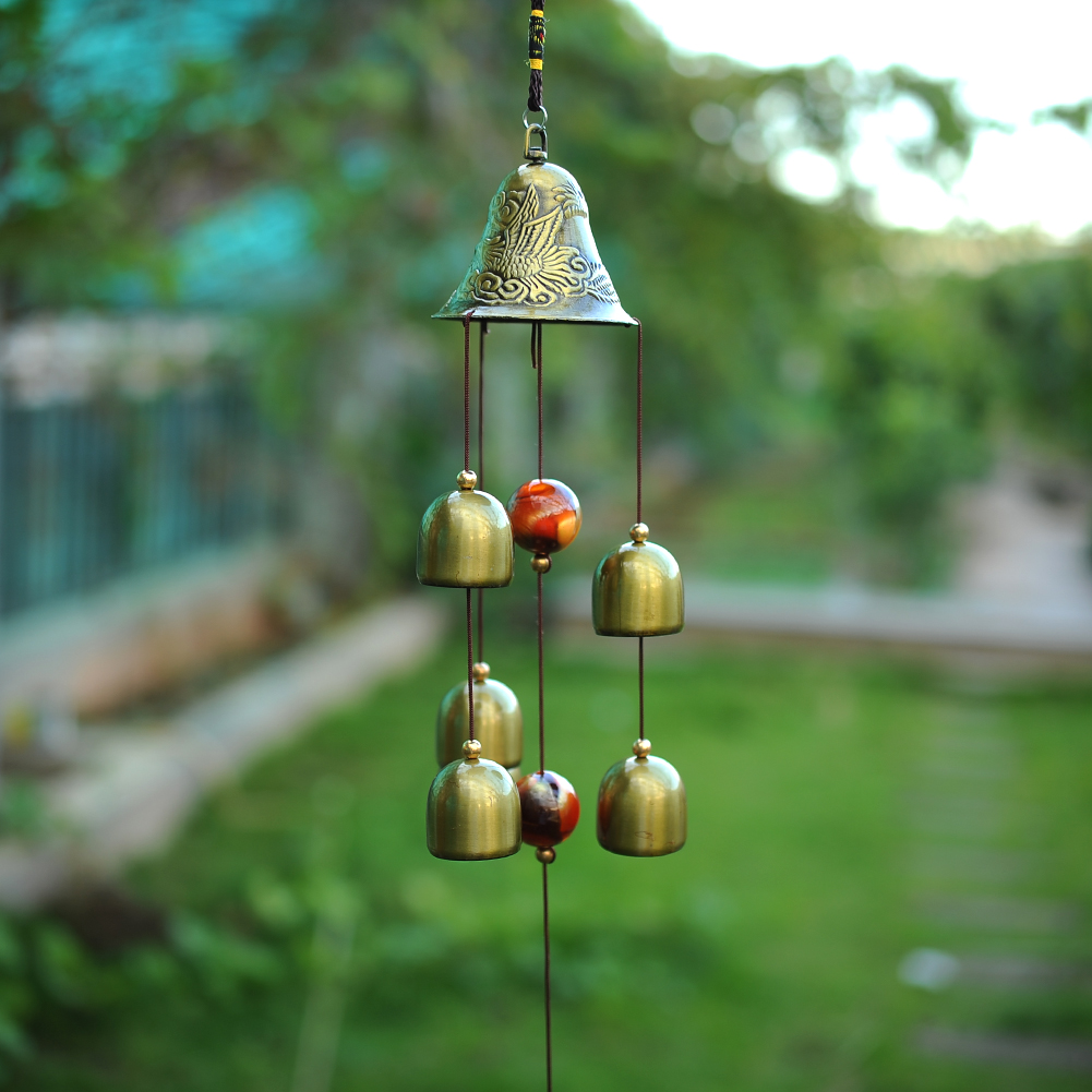 Large wind chimes for sale - Large Antirust Copper Wind Chimes Outdoor Decorations Birthday Gifts To Friends And Best Wishes Free Shipping
