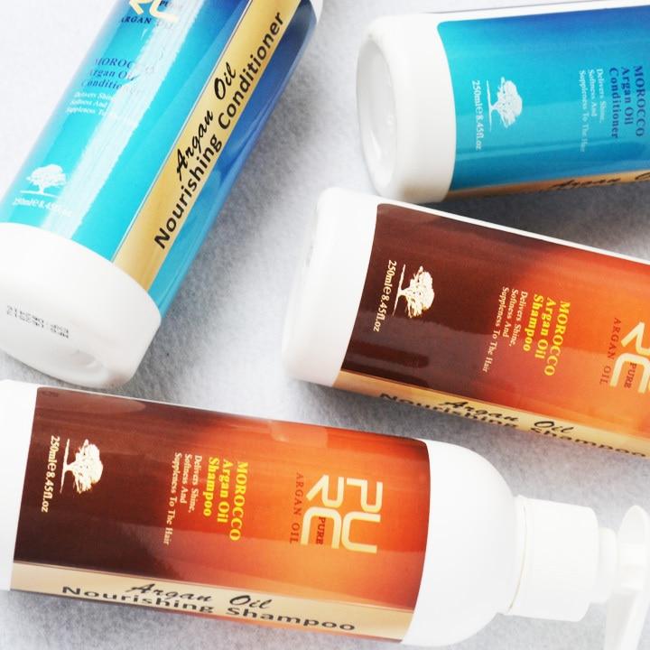 Fas yağı saç şampuanı saç kremi saç maskesi için argan yağı - Saç Bakımı ve Şekillendirme - Fotoğraf 4