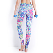 Women Sexy Yoga Pants Printed Dry Fitness  Pants Elastic Fitness Gym Pants Workout Running Tight Sport Leggings Female Trousers недорого