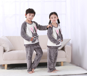 Image 3 - الفتيات الشتاء ملابس خاصة منامة الأطفال ملابس طويلة الأكمام بيجامات للأطفال مجموعات لينة الفتيان طويلة الأكمام Homewear ملابس نوم الطفل