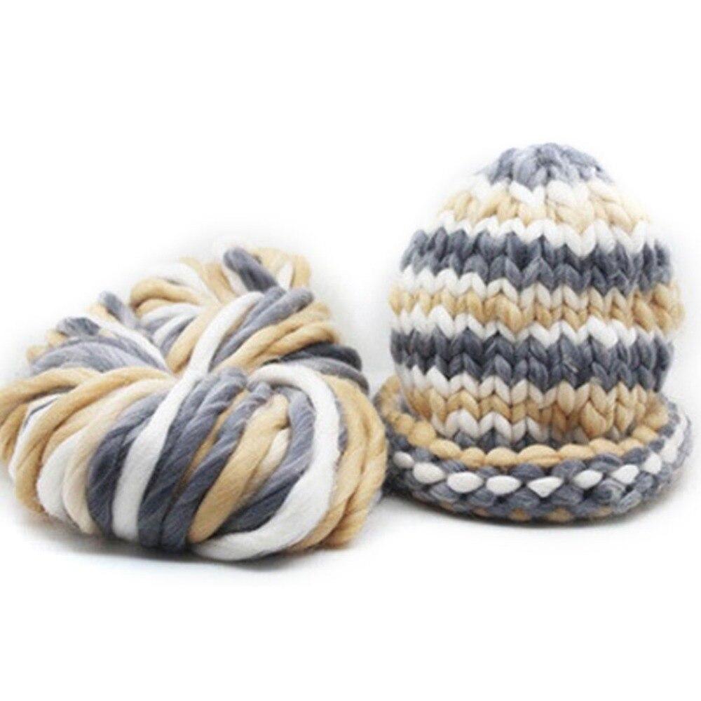 250g/bola suave gruesa Hilado para tejer crochet Hilos Super ...