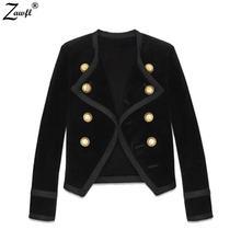Осенне зимняя женская куртка zawfl подиумное пальто 2020 Дизайнерское