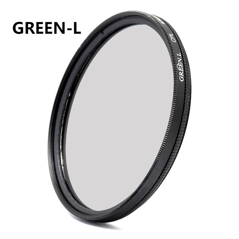 Vert-L Circulaire Polarisant Filtre Polarisant pour Objectif Taille 82mm 77mm 72mm 67mm 62mm 58mm 55mm 52mm 49mm 40.5mm