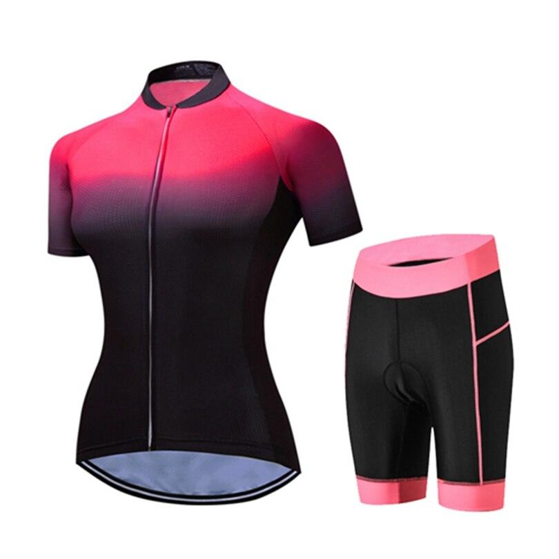 WEIMOSTAR Women MTB Cycling Jersey Shorts Bike Short Sleeve Shirts Bicycle Sportswear Bike Ropa Ciclismo Cycle Clothing