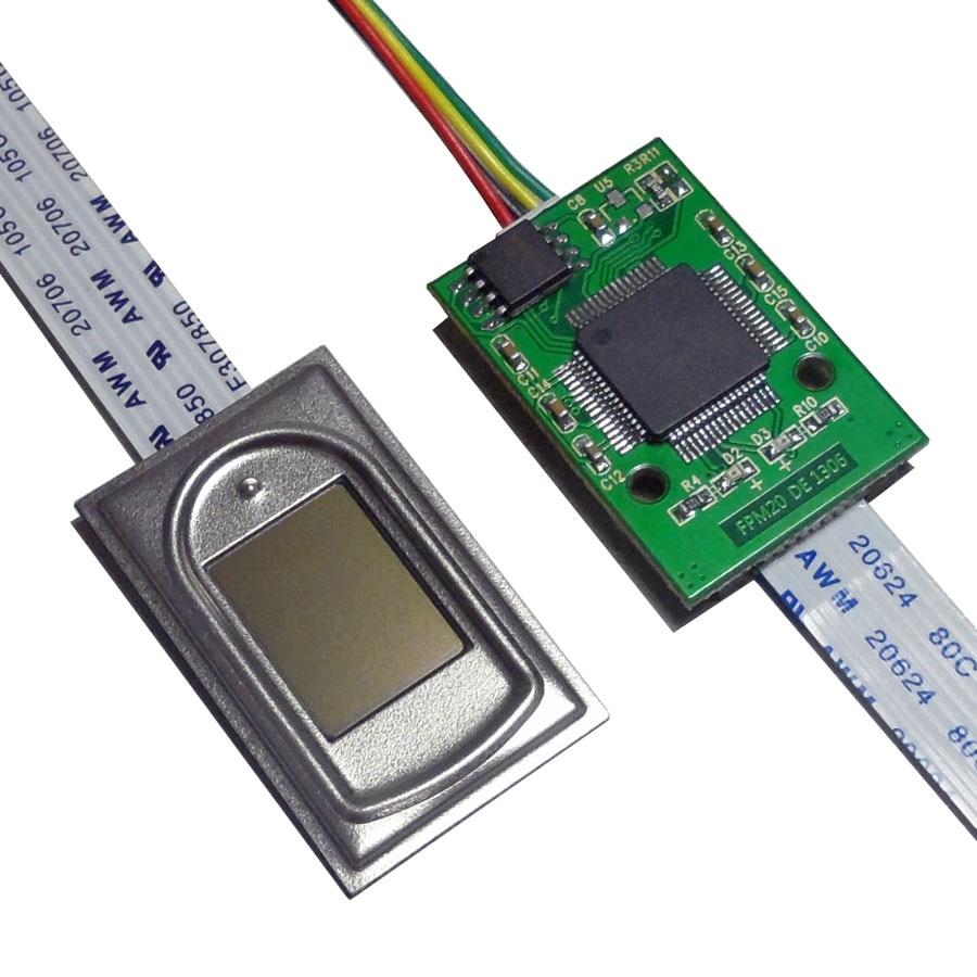 FPM21 Capacitive Fingerprint Module Fingerprint Identification Instrument Fingerprint Lock Compatible With FPC1011F FPM10 FPM20
