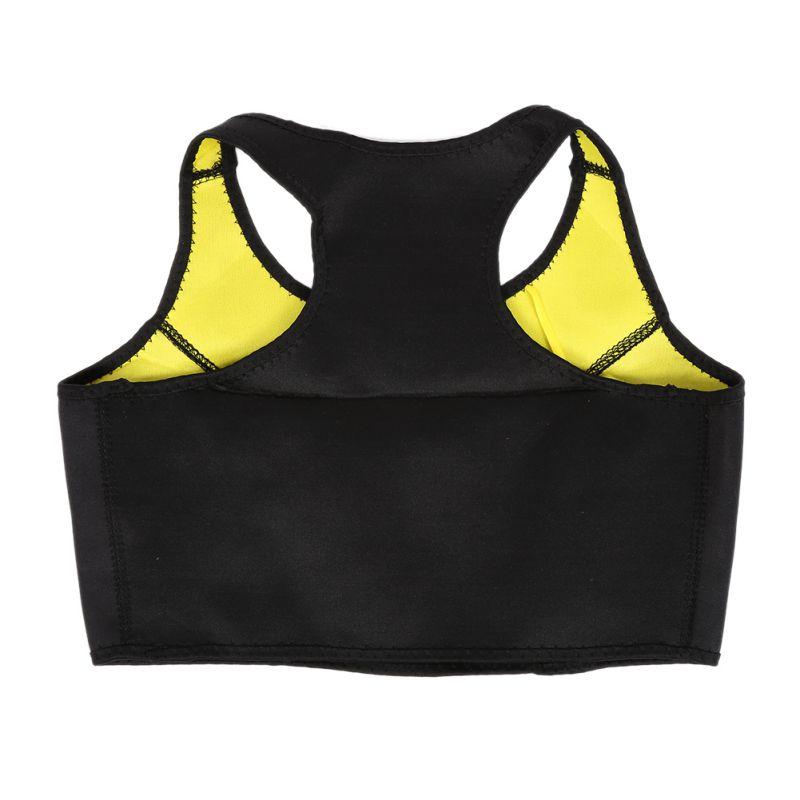 Plus Size XXXL Outdoor Womens Buttock Toning Vest to Lose Weight Slimming Belts Body Garment Sportswear Bra Vest
