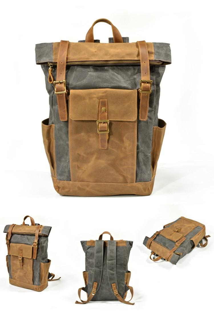 Varberg Canvas Travel Bag