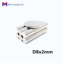 20pcs strong cylinder magnet 8*20mm 8mmx20mm N35 Rare earth neodymium 8x20mm 8x20 art craft fridge D8x20mm 8*20