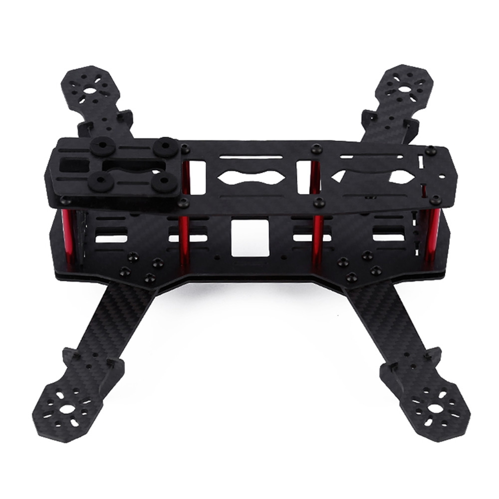RC Quadcopter Parts Carbon Fiber Frame Accessory Fitting for QAV 250 C250 Mini RC Quadcopter Frame Set Drone Dron Parts 2pcs eachine falcon 250 carbon fiber arm motor mount spare parts for mini drone quadcopter rc helicopter multicopter part