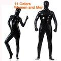 New Latex Full Bodysuit Lycra Spandex Cosplay Clothes Shiny Metallic Skin Suit Catsuit Men Women Halloween Zentai Costumes