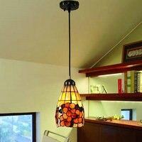 110-240 v frete grátis ferro antigo tiffany luz d13cm com 1 luz para corredor e27 excluídos lâmpadas led está disponível