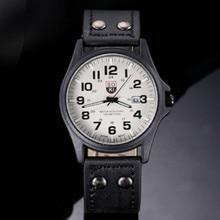 New 2019 men watch luxury  mens watches wristwatch quartz leather strap gifts for minimalist