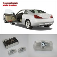For Infiniti G Series 2007 2013 Door Ghost Shadow Lights Car Brand Logo LED Projector Welcome