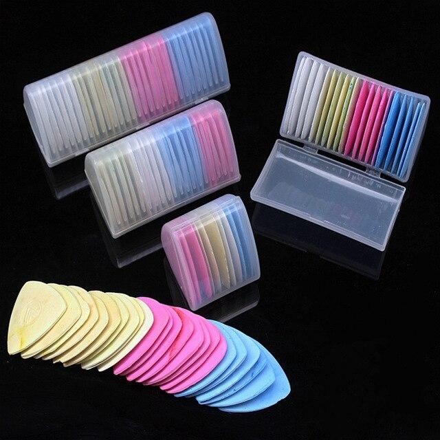Nhiều màu sắc Xong Xóa Được Vải thợ may phấn Vải Miếng Dán Cường Lực Cột Mốc Quần Áo Họa Tiết DIY May Dụng Cụ Bộ Kim Chỉ Phụ Kiện