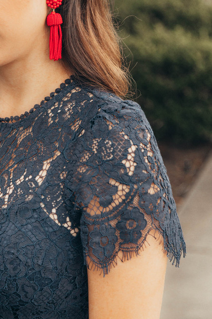 Lace Dresses - Evening Blue - 3 Styles 4