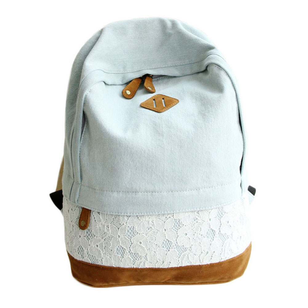 Popular Light Blue Backpack-Buy Cheap Light Blue Backpack lots ...