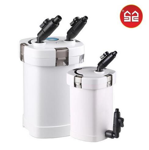Aquarium Fish Tank External Canister Filter Outside Pre-Filter mini Filter+Pump