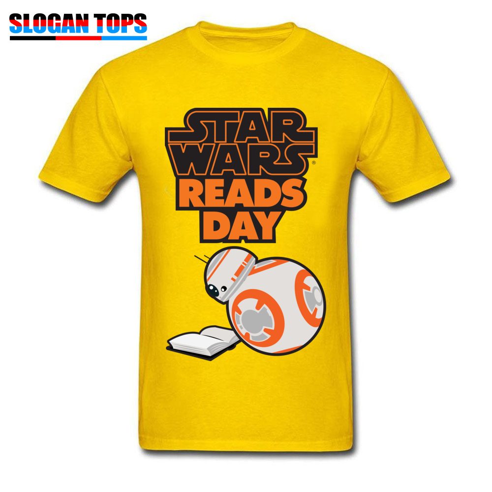 Men T-Shirt star wars aftermath Printed On Tops Tees 100% Cotton Round Neck Short Sleeve Normal Tee-Shirts VALENTINE DAY star wars aftermath yellow