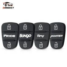 Dandkey Замена дистанционного ключа оболочки чехол 3 кнопки резиновая накладка для hyundai l10 l20 l30 Kia K2 K5 PRIDE BONgo RNY PORTER