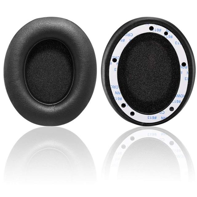 Wantek Replacement Ear pads for Beats   Protein Leather Memory Foam Ear Cushion Pads Earpads Ear Cups for Wireless B0500 / B0501