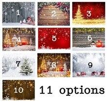 חג המולד צילום תפאורות חורף שלג תינוק יילוד תא צילום רקעים עבור שיחת וידאו סטודיו צילום ויניל בד
