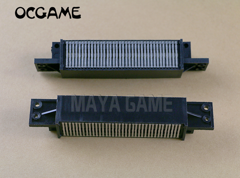 OCGAME high quality Hot 72 Pin Game Cartridge Slot Connector 72PIN Replacement for Nintendo NES 8pcs
